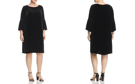 Lafayette 148 New York Plus Roslin Velvet Bell-Sleeve Dress - Bloomingdale's_2