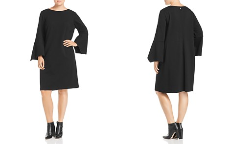 Lafayette 148 New York Plus Paloma Flare-Sleeve Dress - Bloomingdale's_2