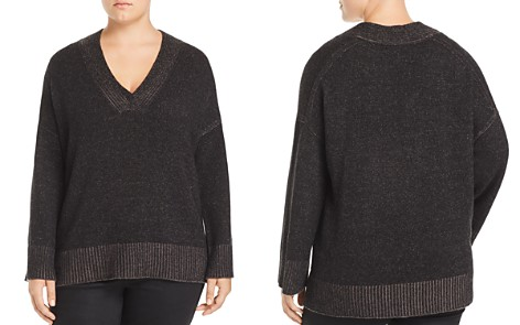 Lafayette 148 New York Plus Vanise Relaxed Cashmere Sweater - Bloomingdale's_2