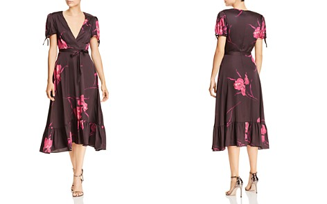 Betsey Johnson Floral Faux-Wrap Dress - Bloomingdale's_2