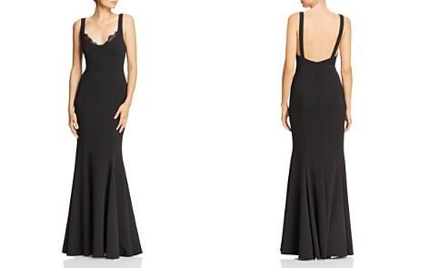 AQUA Scuba Crepe Mermaid Gown - 100% Exclusive - Bloomingdale's_2
