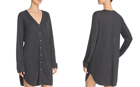 Josie Heathers Long-Sleeve Sleepshirt - Bloomingdale's_2