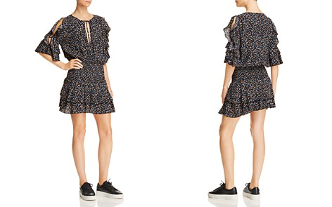 Olivaceous Ruffle-Trim Ditsy Floral Dress - Bloomingdale's_2