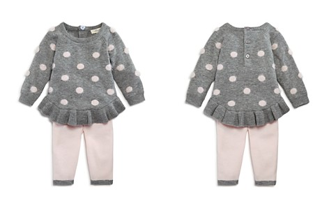 Miniclasix Girls' Dotted Sweater Top & Leggings Set - Baby - Bloomingdale's_2
