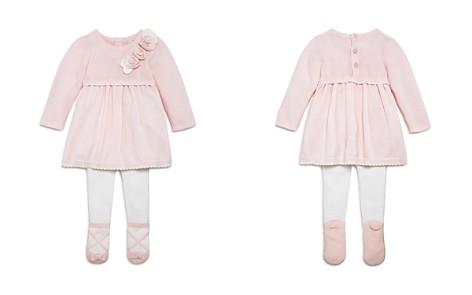 Miniclasix Girls' Rosette Detail Sweater Dress & Leggings Set - Baby - Bloomingdale's_2