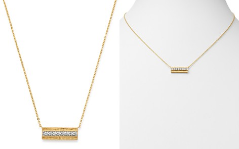 Bloomingdale's Diamond Bar Necklace in 14K Yellow Gold, 0.20 ct. t.w. - 100% Exclusive_2