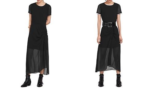 ALLSAINTS Ariya Illusion Dress - Bloomingdale's_2