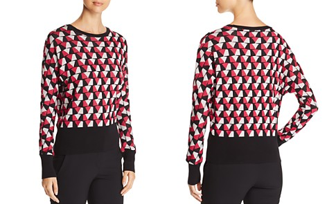 BOSS Estine Geometric Print Sweater - Bloomingdale's_2