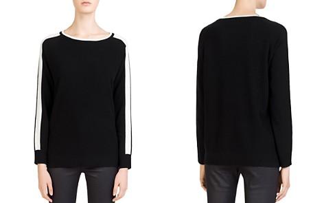 Gerard Darel Clarisse Sleeve-Stripe Sweater - Bloomingdale's_2