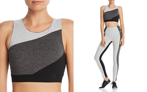 GAIAM X JESSICA BIEL Houston Color-Block Sports Bra - Bloomingdale's_2