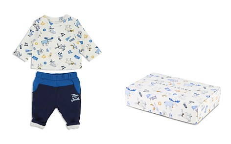 Little Marc Jacobs Boys' Moose-Print Tee & Jogger Pants Set - Baby - Bloomingdale's_2