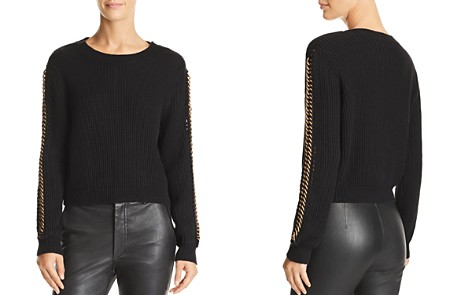 Michelle Mason Chain-Detail Sweater - Bloomingdale's_2