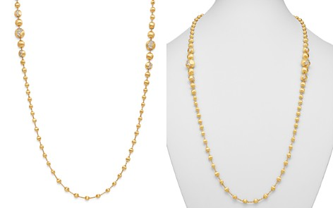 """Marco Bicego 18K Yellow Gold Africa Constellation Diamond Long Beaded Necklace, 36"""" - Bloomingdale's_2"""
