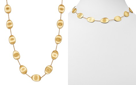 """Marco Bicego 18K Yellow Gold Lunaria Station Collar Necklace, 17"""" - Bloomingdale's_2"""