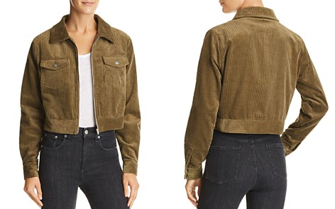Lost + Wander Cropped Corduroy Jacket - Bloomingdale's_2