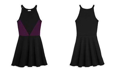 Sally Miller Girls' Textured Mesh Cutout Dress - Big Kid - Bloomingdale's_2