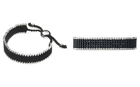 Links of London Black Friendship Bracelet - Bloomingdale's_2