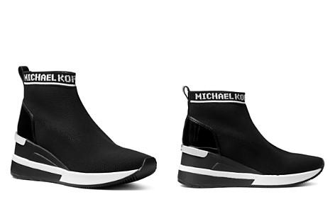 MICHAEL Michael Kors Women's Skyler Knit Slip-On Sneaker Boots - Bloomingdale's_2