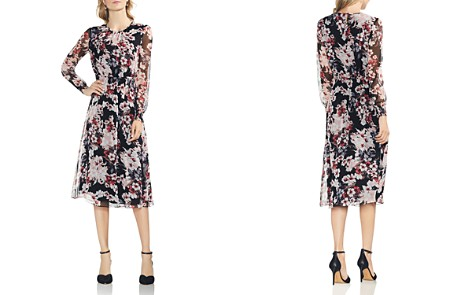 VINCE CAMUTO Timeless Blooms Midi Dress - Bloomingdale's_2