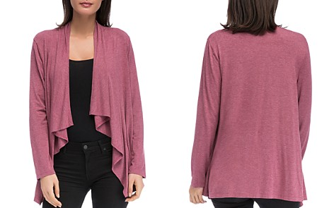 B Collection by Bobeau Amie Waterfall Cardigan - Bloomingdale's_2