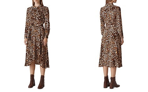 Whistles Esme Leopard Shirt Dress - Bloomingdale's_2
