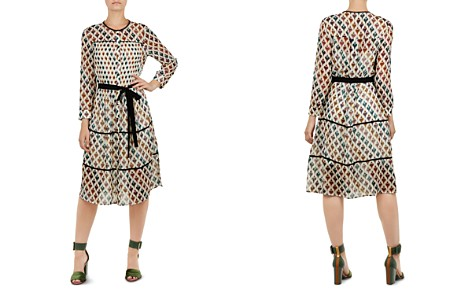 Ted Baker Colour by Numbers Ria Heart-Print Shirt Dress - Bloomingdale's_2