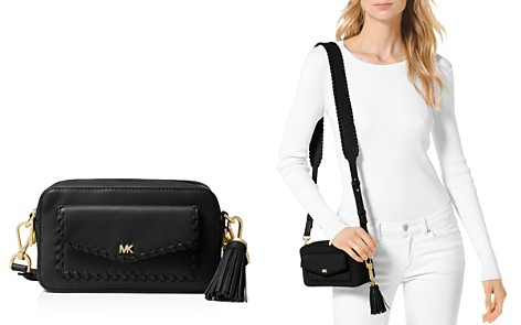 MICHAEL Michael Kors Small Leather Pocket Camera Bag - Bloomingdale's_2
