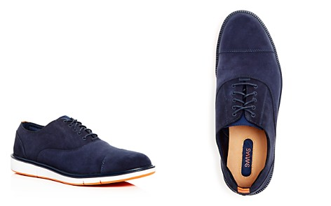 Swims Men's Motion Nubuck Leather Cap Toe Oxfords - Bloomingdale's_2