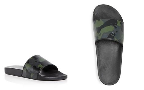 BOSS Hugo Boss Men's Timeout Camo Print Slide Sandals - Bloomingdale's_2