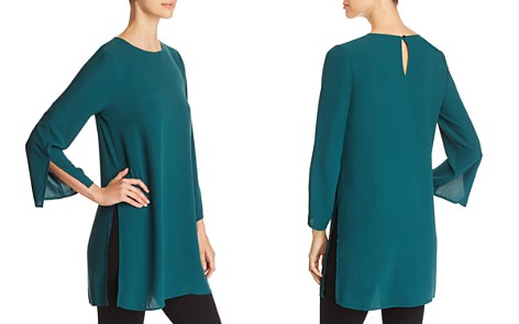 Eileen Fisher Silk Tunic - Bloomingdale's_2
