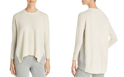 Eileen Fisher Petites Color Block Side Sweater - Bloomingdale's_2