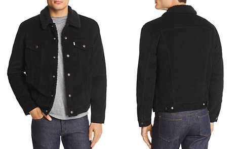 Levi's Faux Shearling-Lined Corduroy Trucker Jacket - 100% Exclusive - Bloomingdale's_2