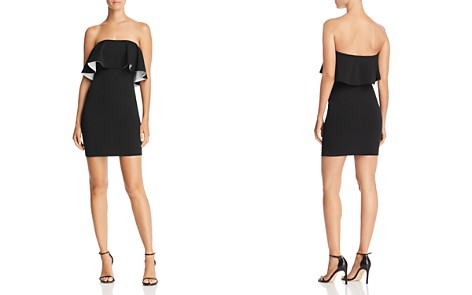 AQUA Double Face Scuba Popover Dress - 100% Exclusive - Bloomingdale's_2