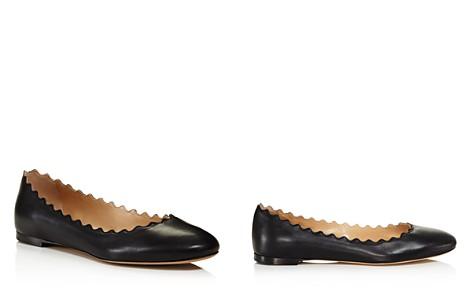 Chloé Women's Lauren Leather Ballet Flats - Bloomingdale's_2