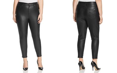 Seven7 Jeans Plus Faux-Leather Jeans - Bloomingdale's_2
