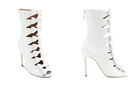 Laurence Dacade Women's Silda Leather Cutout Bow-Front Booties - Bloomingdale's_2