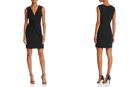 AQUA Twist-Front Sheath Dress - 100% Exclusive - Bloomingdale's_2