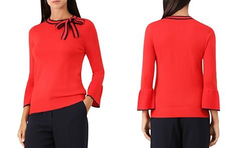 HOBBS LONDON Jess Bow Detail Sweater - Bloomingdale's_2