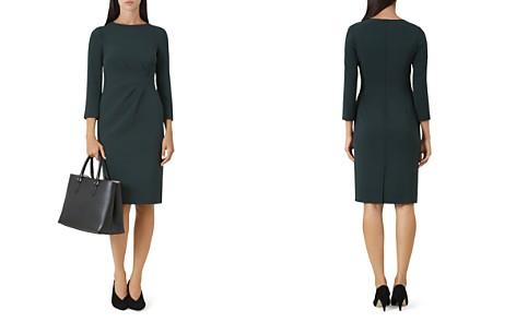 HOBBS LONDON Alexa Pleated Detail Sheath Dress - Bloomingdale's_2