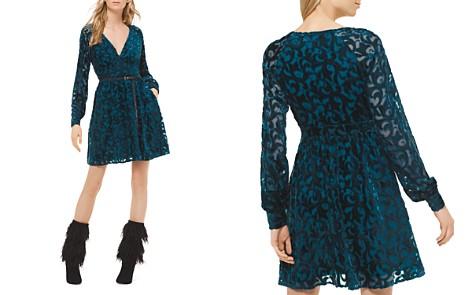 MICHAEL Michael Kors Burnout Mini Dress - Bloomingdale's_2