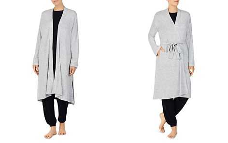 Donna Karan Sweater Knit Robe - Bloomingdale's_2