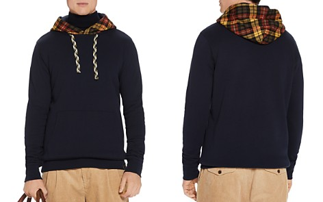 Scotch & Soda Plaid-Hood Sweatshirt - Bloomingdale's_2