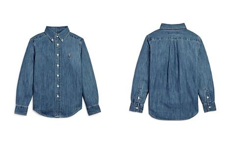 Ralph Lauren Boys' Denim Button-Down Shirt - Big Kid - Bloomingdale's_2
