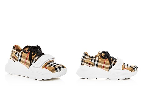 Burberry Women's Regis Vintage Check Platform Sneakers - Bloomingdale's_2