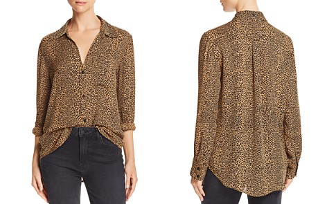 Current/Elliott The Derby Leopard Print Shirt - Bloomingdale's_2