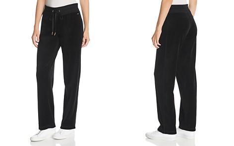Calvin Klein Velour Drawstring Pants - Bloomingdale's_2