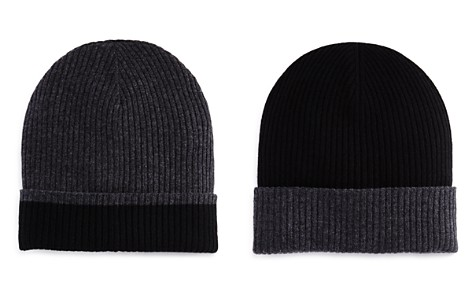 The Men's Store at Bloomingdale's Reversible Knit Hat - 100% Exclusive_2