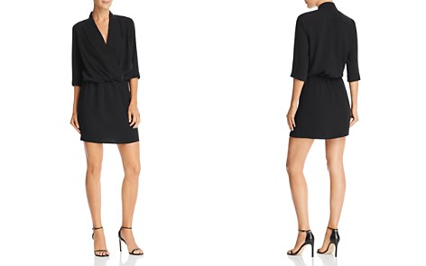 Amanda Uprichard Venus Crossover Mini Dress - Bloomingdale's_2
