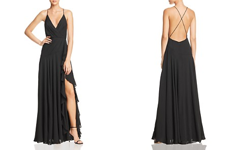 Fame and Partners The Naya Draped Gown - Bloomingdale's_2