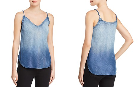 Bella Dahl Frayed-Edge Chambray Camisole - Bloomingdale's_2